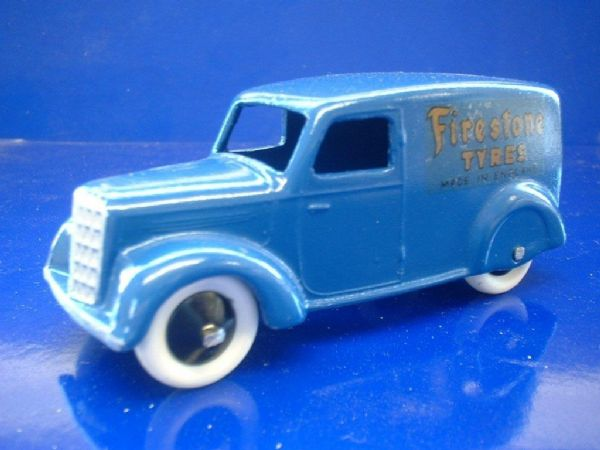 "A DINKY TOYS COPY MODEL 28 SERIES TYPE 3 DELIVERY VAN ""FIRESTONE TYRES"""